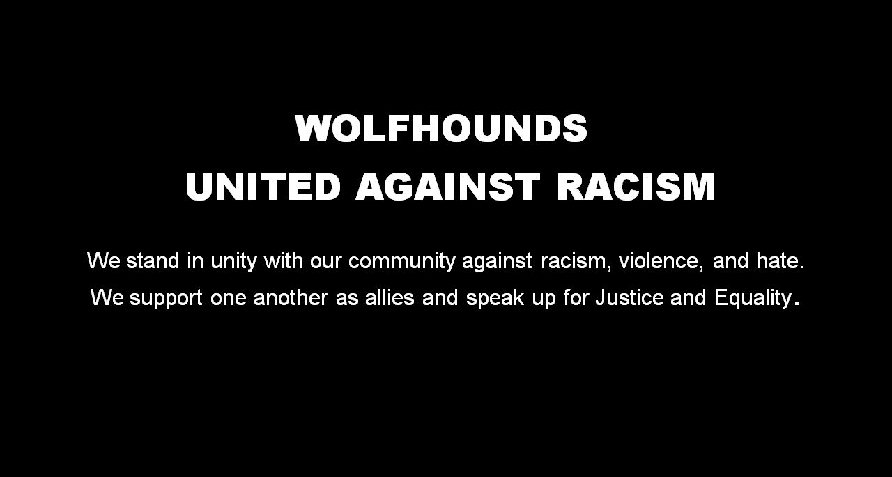 Wolfhounds United Against Racism